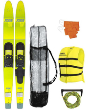 "Allegre 67"" Combo Skis Yellow Pack"