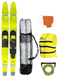 """Allegre 67"""" Combo Skis Yellow Pack"""