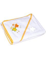 Полотенце Baby Nito BN-100 100x100 Белый (девочки)