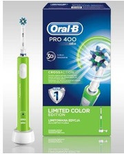 ORAL-B Pro 400 CrossAction Green