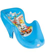 TEGA BABY Горка для купания Tega Cars CS-003 нескользящая 120 blue