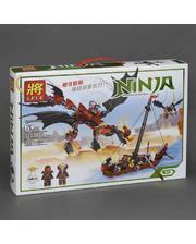 Ninjago Конструктор Нападение дракона 329 деталей 31014