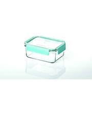 GlassLock Стеклянный контейнер для хранения с герметичной крышкой с креплениями Glasslock, 980 мл., прямоугольный, (MCRT-098P)