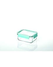 GlassLock Стеклянный контейнер для хранения с герметичной крышкой с креплениями Glasslock, 1100 мл., прямоугольный, (MCRB-110P)