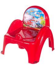 TEGA BABY Горшок-кресло Tega Cars CS-007 красный