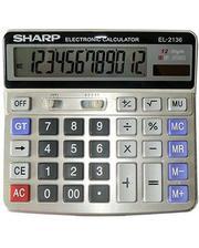Sharp 2136, двойное питание