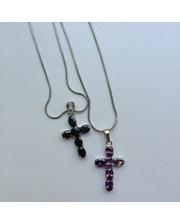 Крестик в двух цветах