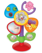 KIDDIELAND Игрушка на присоске KiddielandPreschool Цветик (054924)