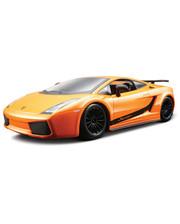 BBURAGO (1:24) Lamborghini Gallardo Superlegerra (2007) (18-25089) Оранжевый металлик