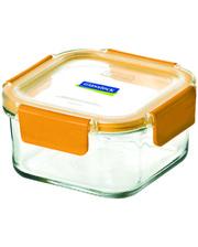 GlassLock Стеклянный контейнер для хранения с герметичной крышкой с креплениями Glasslock, 1000 мл., квадратный, (MCSW-100P)