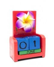 Вечный календарь Цветок