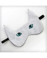 Маска для сна Кот голубоглазый