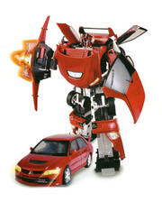 Робот-трансформер Roadbot MITSUBISHI EVOLUTION VIII (1:18) 50100 r