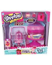 Shopkins Игровой набор Shopkins&Shoppies Королевское Капкейк-Кафе 56081
