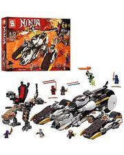 Ninjago Конструктор Внедорожник с суперсистемой маскировки 1168 деталей SY593