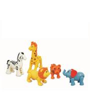 KIDDIELAND Игровой набор KiddielandPreschool Дикие животные 054106