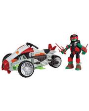 TMNT с фигурой серии Черепашки-Ниндзя - Квадроцикл фигурка Рафаэль 94263