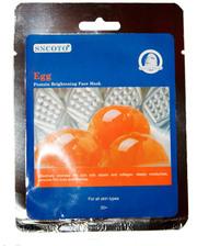 SNCOTO. Egg: Осветляющая маска для лица на основе яичного белка.