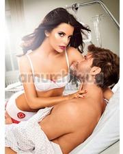Baci Костюм медсестры White Night-Nurses Bikini W Skirt: бюстгальтер + юбочка + трусики