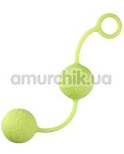 Dream Toys Вагинальные шарики Pleasure Balls салатовые