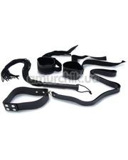 NMC Бондажный набор Ultimate Bondage Collar Whrist and Whip Kit
