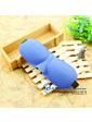 3D очки для сна с бамбуковым волокном, синий цвет