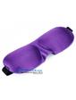 3D очки для сна с бамбуковым волокном, сиреневый цвет