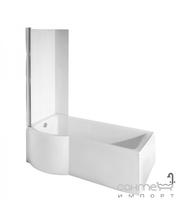 Besco PMD Piramida Шторка для ванны Besco Inspiro закаленное стекло прозрачное, левая