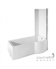 Besco PMD Piramida Шторка для ванны Besco Inspiro закаленное стекло прозрачное, правая
