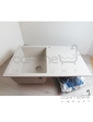 Кухонная мойка из кварцевого камня Vankor Orman OMP 02.78 Sahara беж (уценка)