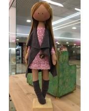 """Кукла """"Стиляга"""" ручной работы на подставке"""