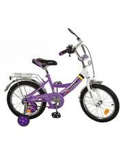 Велосипед Profi детский 16 дюймов P1648A, фиолетовый