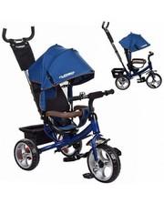 Колясочный велосипед TurboTrike M 3113-11 цвет темно-синий