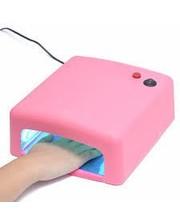 Уф лампа для сушки ногтей 36Вт , цвета в ассортименте