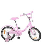 Велосипед детский Profi 14 дюймов Y1411 Princess, розовый, звонок, доп. колёса