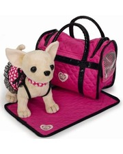 Собачка интерактивная Кикки с сумкой