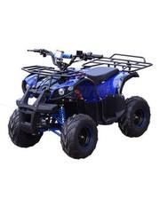 Квадроцикл электромобиль HB-EATV 800N-4, три аккумулятора, синий