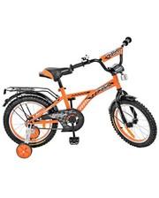 Детский двухколесный велосипед Profi G1635, 16 дюймов, Racer, оранжевый