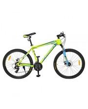 Велосипед 26 дюймов Profi G26HARDY A26.1, Shimano 21SP, салатово-голубой