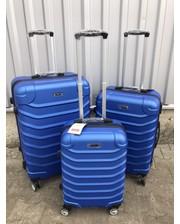 Комплект пластиковых чемоданов Ormi 2065-3 на 4 колесах