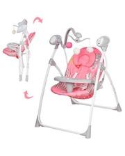 Детские качели Bambi M 1540-01 розовый цвет