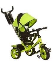 Колясочный велосипед TurboTrike M 3113-4 цвет зеленый