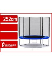 Батут JustJump, диаметр 252 см + внешняя сетка