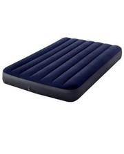 Intex - 64758 полутороспальный надувной 137-191-25см Classic Downy