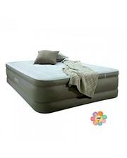 Велюровая кровать 67486 встроенный насос , дорожная сумка 203-152-46см