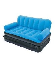 Intex - 67356 с электронасосом, велюр голубой