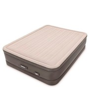 Велюр кровать 64770 с встроенным эл. насосом 220В, 152-203-46 см