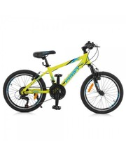 """Велосипед Profi 20"""" G20PLAIN A20.1 салатовый"""