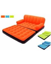 Intex - 67356 с электронасосом, велюр оранжевый