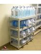 ПРАКТИК Стеллаж SB 125100x424 для хранения воды серый